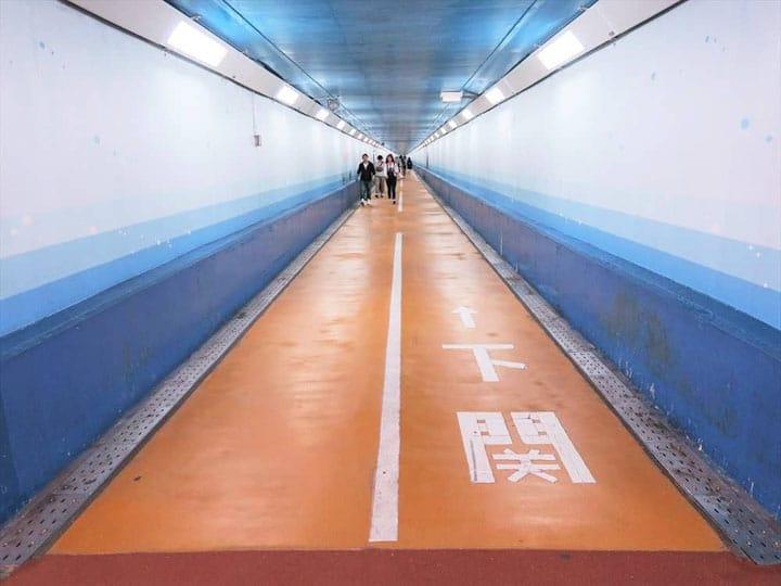 바닷속을 지나다! 시모노세키와 키타 큐슈를 묶는 「간몬 터널 인도(人道)」
