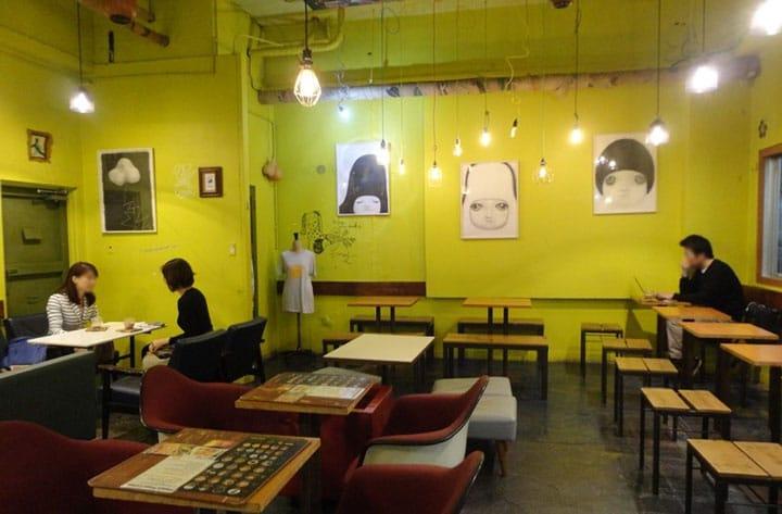 【福冈】「manu coffee」大名店,刺激五感的空间~