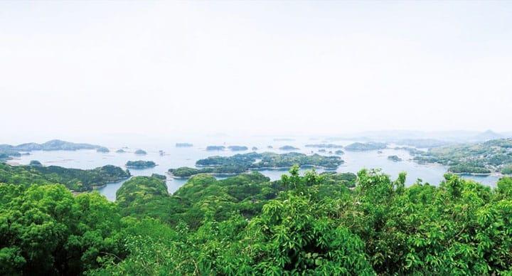 A Popular Movie Location! Sasebo's Kujukushima Island Scenery