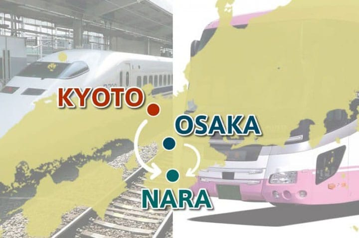 How To Get To Nara From Osaka And Kyoto