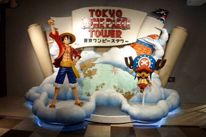 Join The Straw Hat Pirates! Tokyo One Piece Tower (Restaurant & Shops)