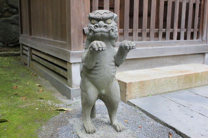 Nagasaki - See The Lion-Dogs At Chinzei Taisha Suwa Shrine