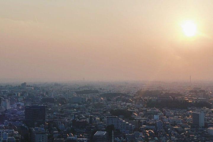 Đài quan sát miễn phí trong thành phố Tokyo!