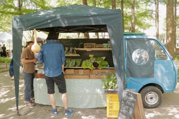 Speak the Language of Food! The Farmers' Market in Kobe Sannomiya