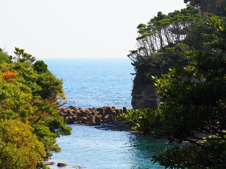 青々とした海の絶景を独り占め!千葉の秘境「鵜原理想郷」