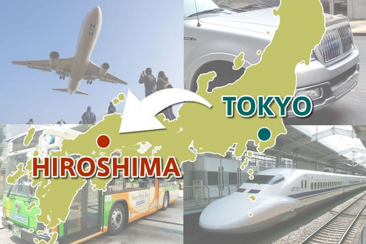 How To Travel From Tokyo To Hiroshima: A Thorough Comparison
