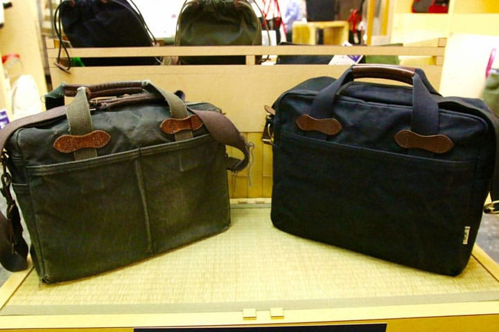 Hinomoto Hanpu in Asakusa - Canvas Bags That Improve Through Time
