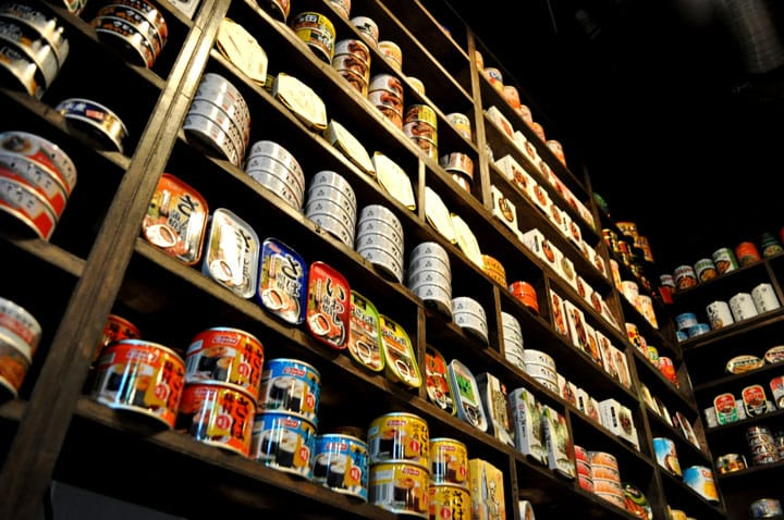 Canned Food Bar