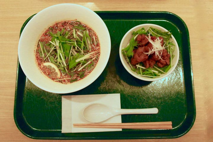 Healthy, Delicious Vegan Food At T's Tantan In Tokyo Station