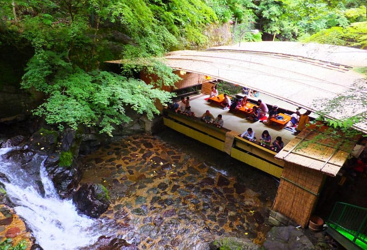 Kyoto's Kibune Katsura: Enjoy Great Meals At This Cool Summer Oasis!