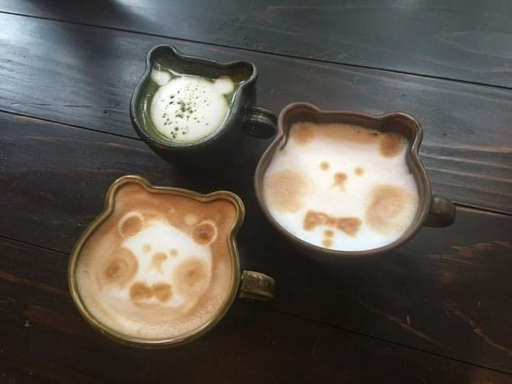 Cafes And Latte Art That Will Make You Say Kawaii!