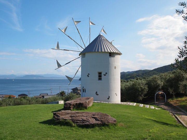 【香川】魔女宅急便真人版的世界!地中海風的「小豆島橄欖公園」