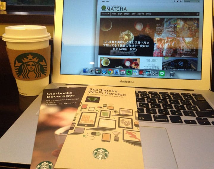 Get Online - How To Connect To Starbucks WiFi In Japan