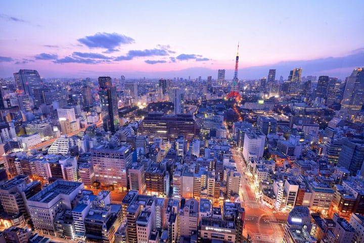 不知道就太可惜!免費看東京夜景,嚴選四大東京夜景