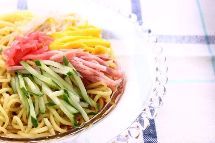 Japanese Encyclopedia: Hiyashi Chūka (Japanese Cold Noodles)