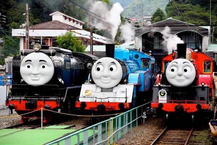 トーマスと仲間達に会いに行こう!静岡県・大井川鐵道のトーマスフェア