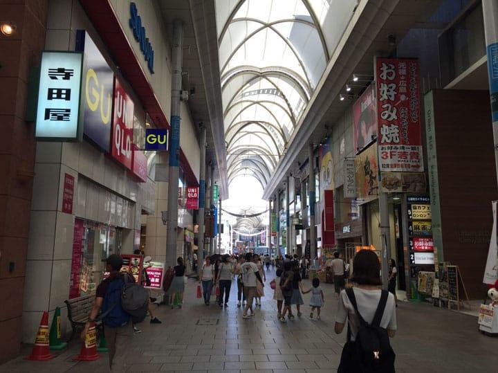 推荐10处广岛购物地点。包含本通商店街、SOGO、PARCO等