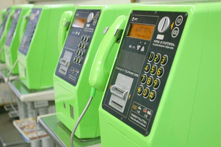 緊急時刻免費使用日本公共電話的使用方法