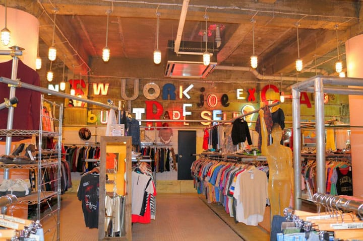 Shimokitazawa's New York Joe Exchange - Vintage Fashion Standing Out