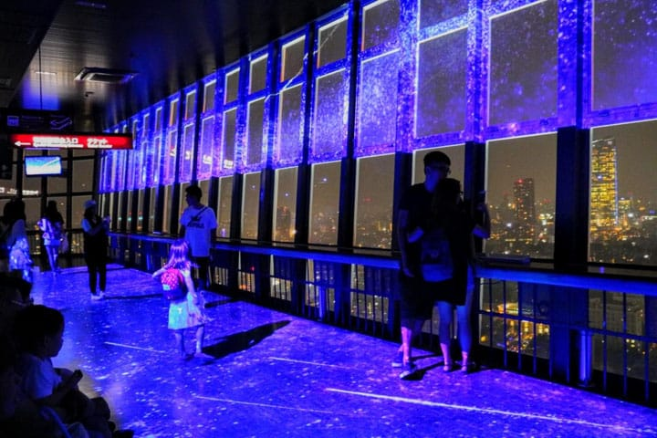 A Blue Tokyo Tower? Summer-Only Milky Way Illuminations