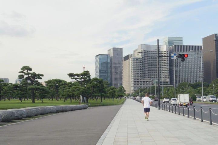 旅ランナーにオススメ。走りながら東京を観光できる