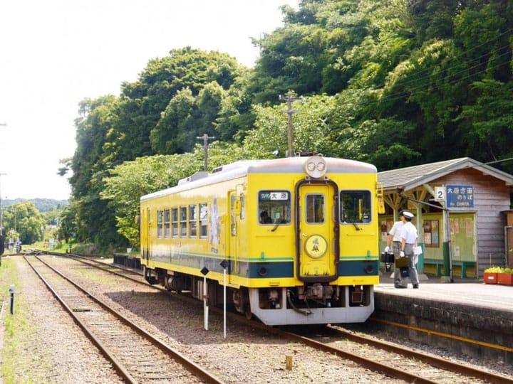【東京近郊】ムーミンと一緒に旅行しよう!千葉県いすみ鉄道の田舎旅