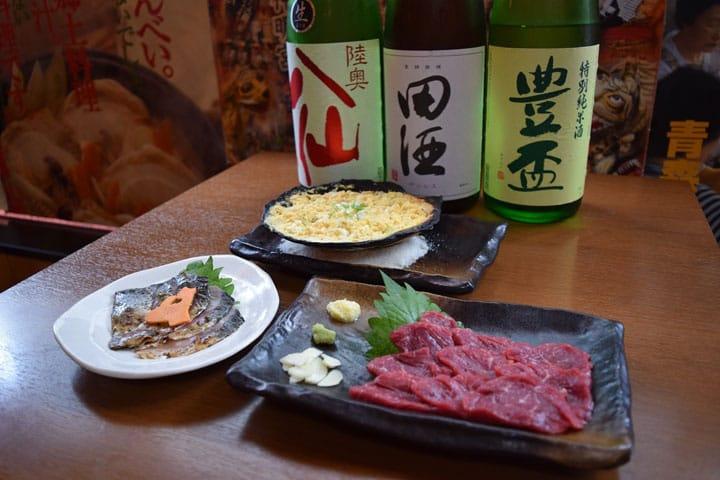 아오모리 음식의 매력을 신주쿠 요츠야 3번가에서 맛볼 수 있는 『아오모리PR 선술집 사과 꽃(りんごの花)』
