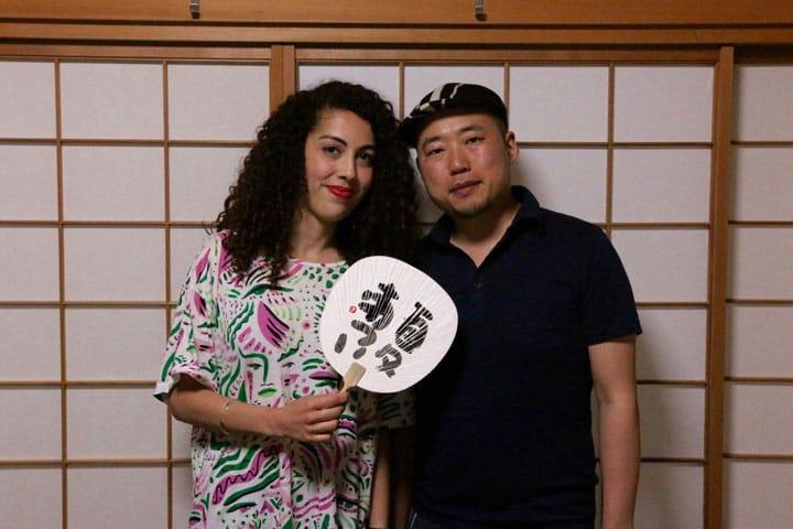 【東京・湯島】うどよし書道教室で、日本の書道に挑戦しよう!!