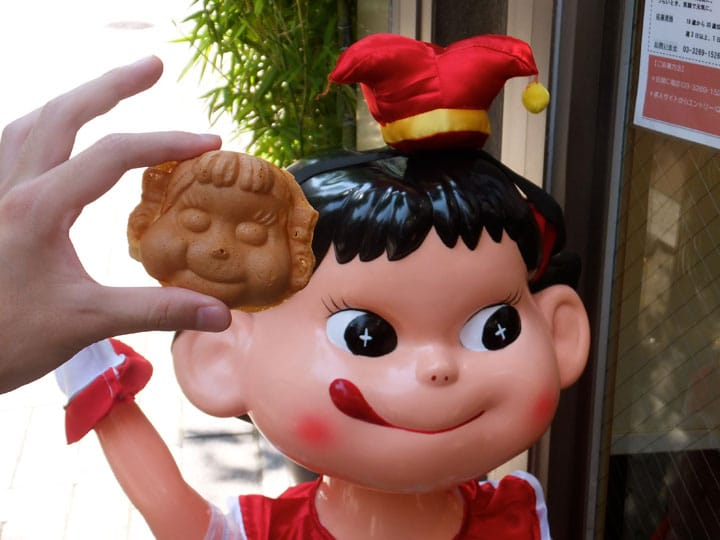 Stroll Around Kagurazaka With A Peko-chan Snack From Fujiya
