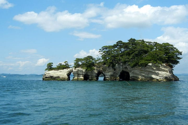 【日本三景】东北宫城松岛海岸