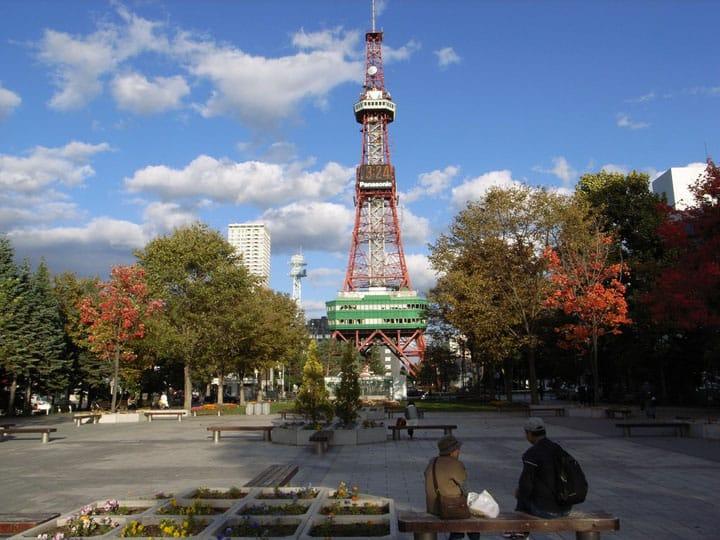 札幌享盡吃喝玩樂的好去處『大通公園』