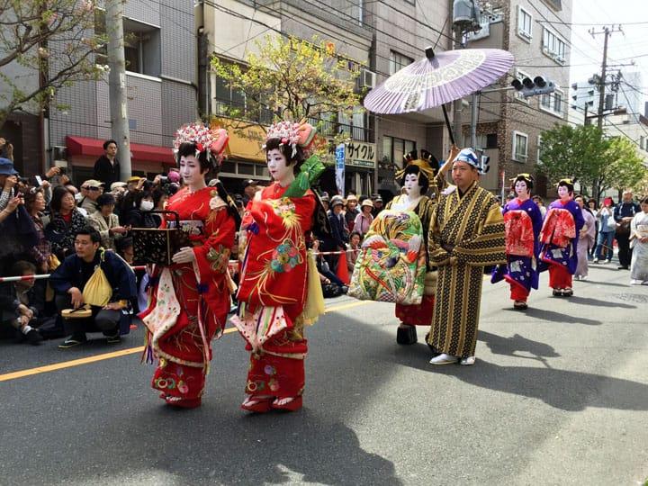 优雅又霸气的花魁道中!带你认识江户吉原的花魁文化