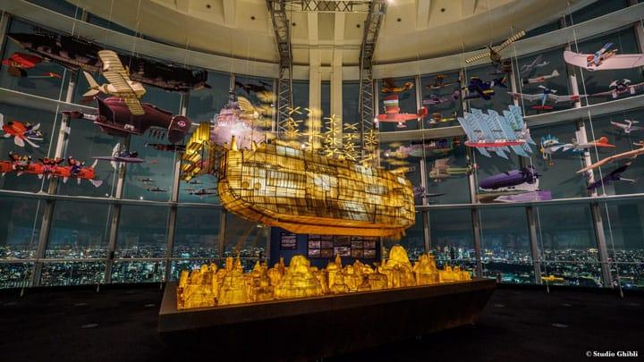 內部實拍採訪『六本木』吉卜力的大博覽會&360度夜景雙重享受!