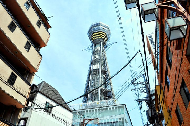 Tsutenkaku Tower In Osaka - 7 Fun Activities And Area Guide