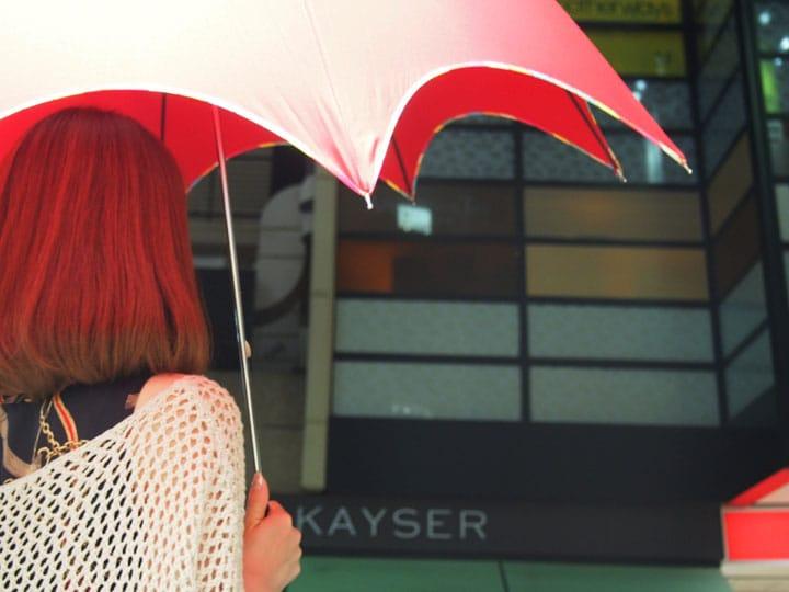【梅雨】在自由之丘的雨傘專賣店選把心愛的雨傘,雀躍期待雨天的來臨