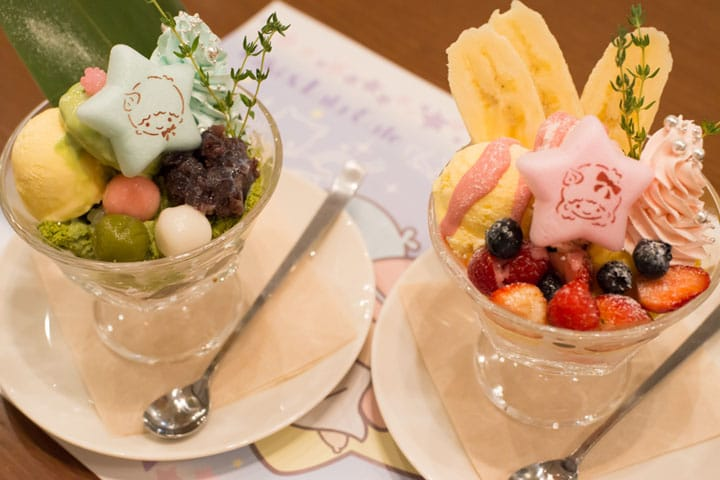 Wish upon the Twin Stars; New Menus at PARCO Shibuya