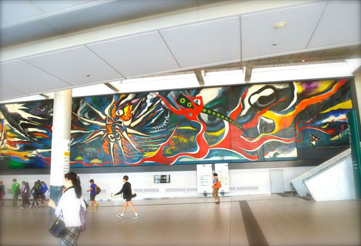 The Myth of Tomorrow: Taro Okamoto's Mural In Shibuya Station