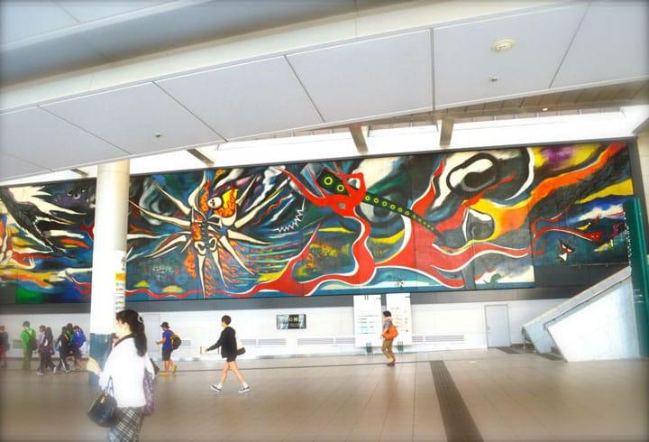 知らずに通り過ぎてない?渋谷駅の壁画『明日の神話』