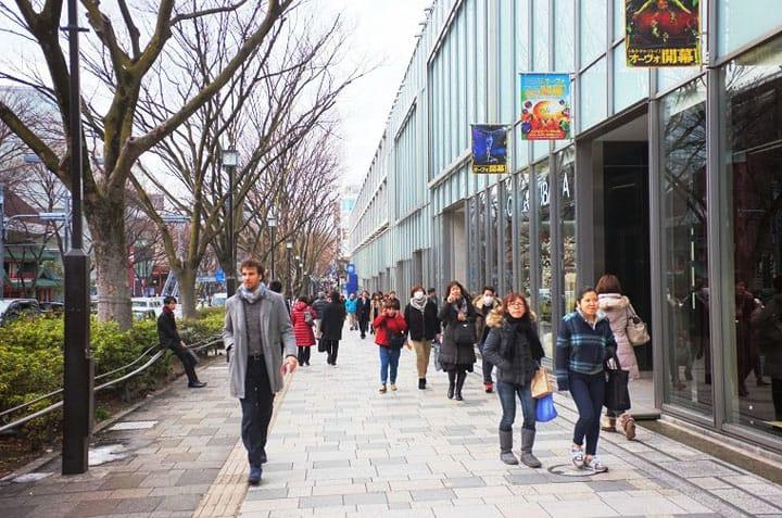 Walk The Runway Along Fashionable Omotesandō Avenue