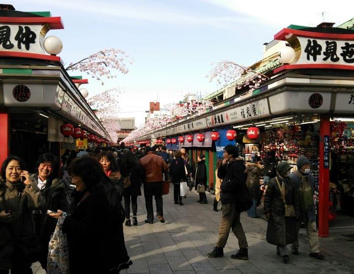 A Guide To Asakusa's Popular Souvenir Street - Nakamise Dori