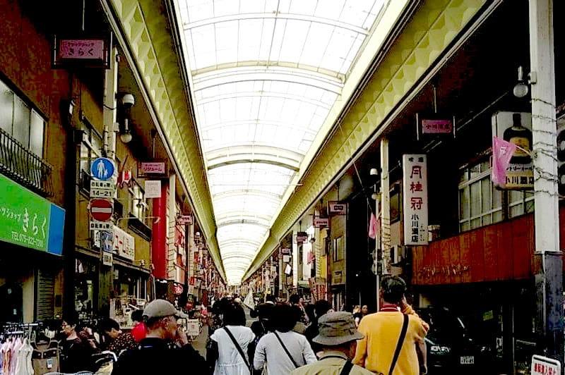 일본 제일의 아케이드는 365일 날이 맑은 마을, 교토「산조카이 상업가」에