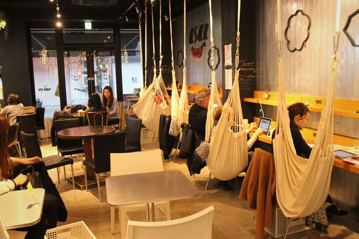 Cafe ASAN - Enjoy Pancakes And Free Wi-Fi While Relaxing In A Hammock