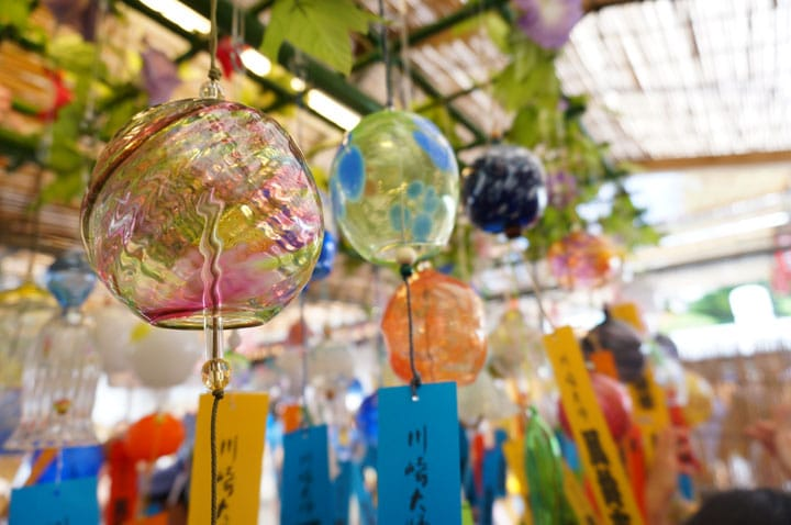 The Sound Of Summer: The Wind Chime Market At Kawasaki Daishi Temple