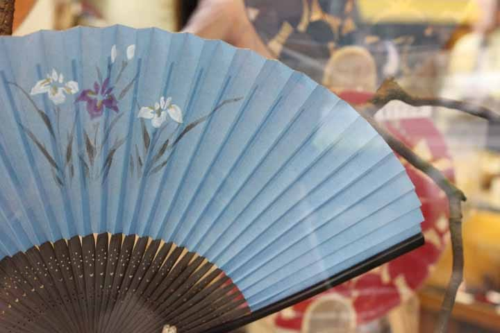 【日本.夏】在酷暑中用「扇子」帶來清爽的微風