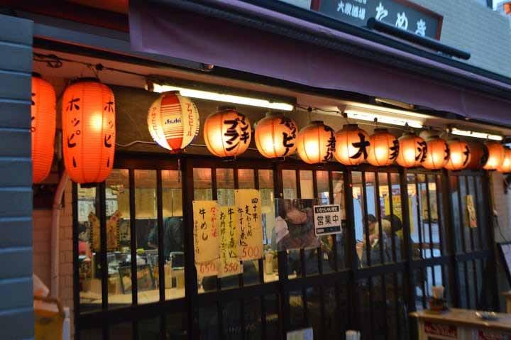 Asakusa's Hoppy Street: Nostalgic But Cheap Bars