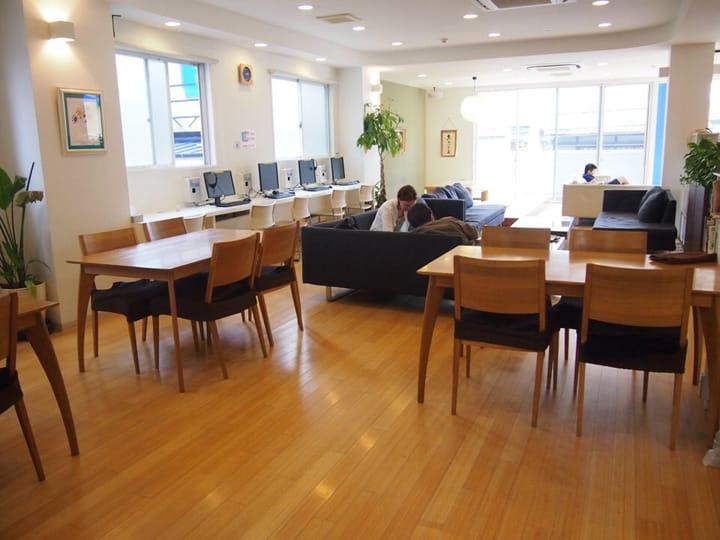 K's House Kyoto Hostel โฮสเทลถูกและดีใกล้สถานีเกียวโต