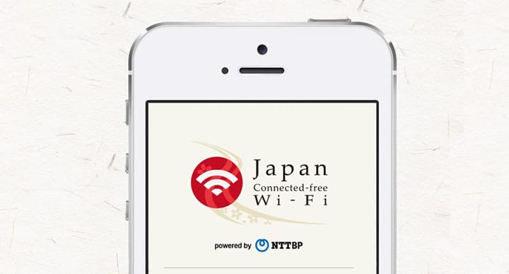 Japan Connected-free Wi-Fi!在東京地鐵和便利店也能使用免費wifi了!