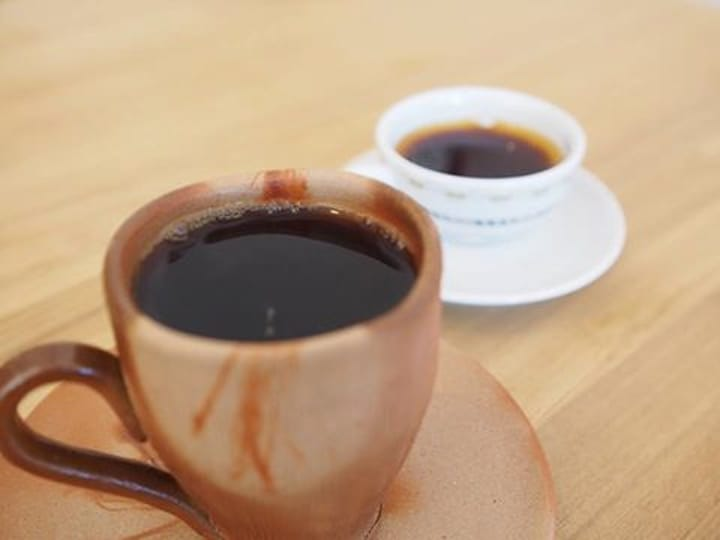 Make Your Coffee Tastier. Bizen Ware from Okayama