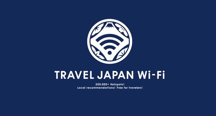 推荐『TRAVEL JAPAN Wi-Fi』给短期游客,日本全国都可用免费wifi了~