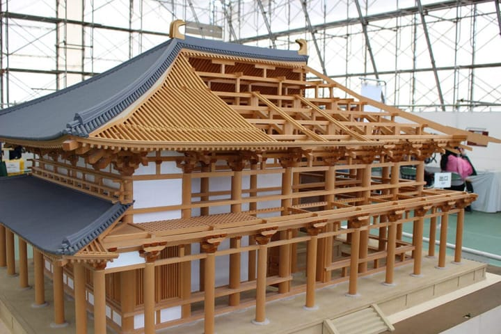 1300年前の奈良を蘇らせる。興福寺の再建現場に行ってきました